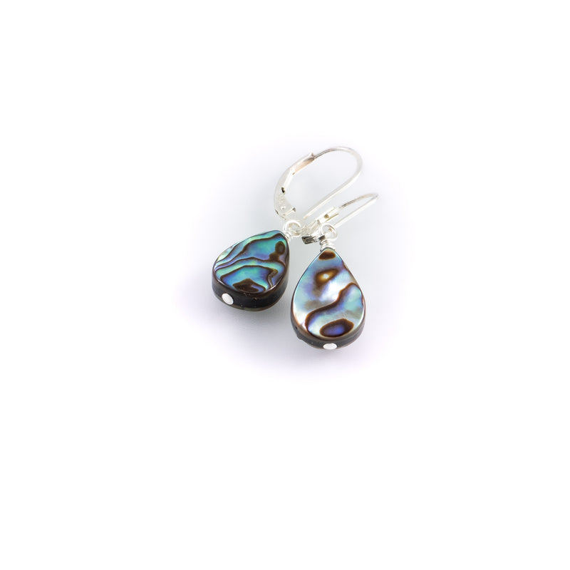 Breezy day abalone earrings