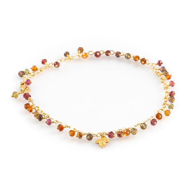 Autumn sunrise anklet