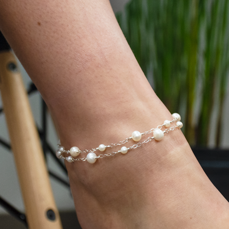 Simply chic anklet