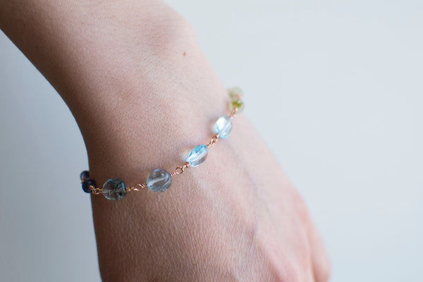 Sun-Dappled Waters Bracelet