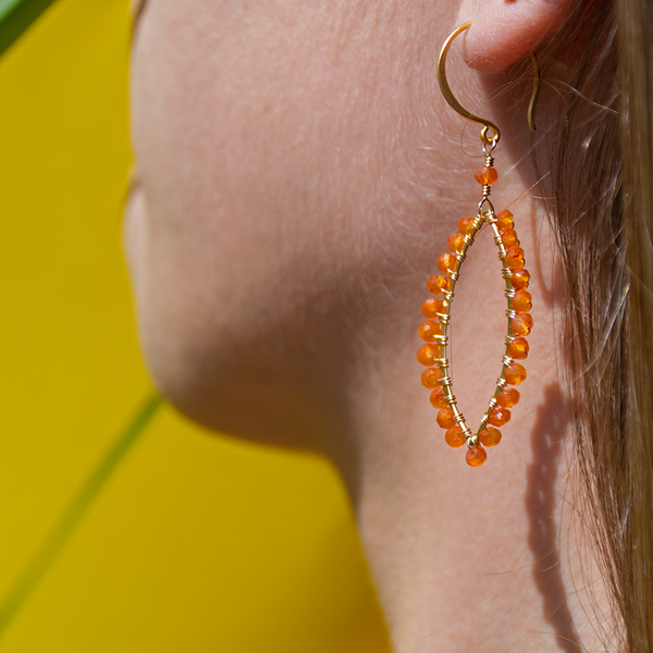 Sweet citrus earrings