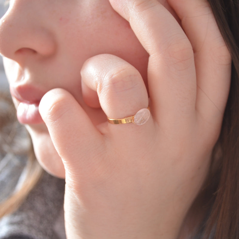 Design Your Own Gemstone Ring in Gold