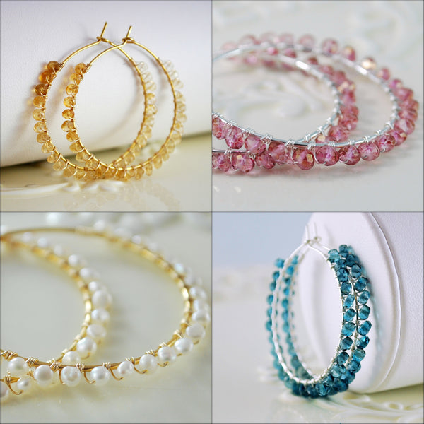 Design Your Own Hoop Earrings