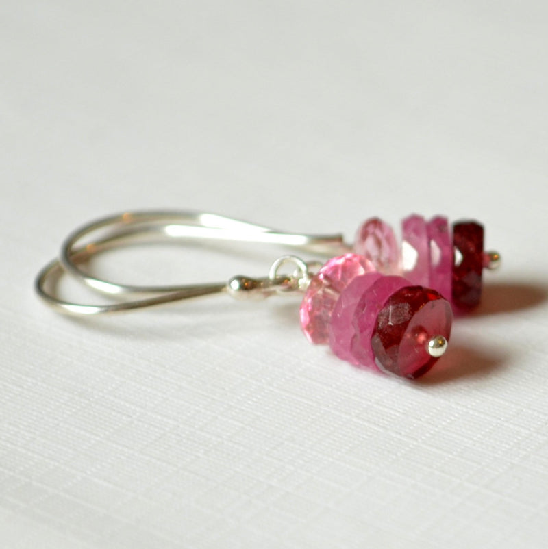 Pink Ombre Earrings