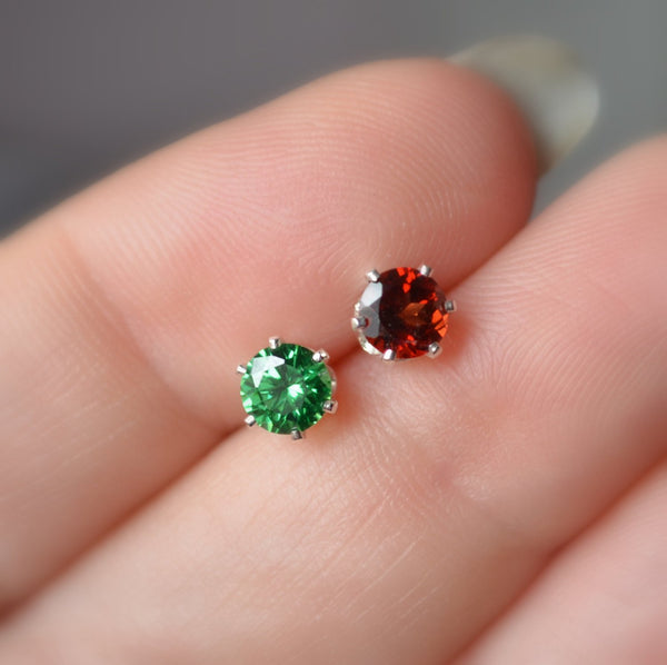 Mismatched Stud Earrings