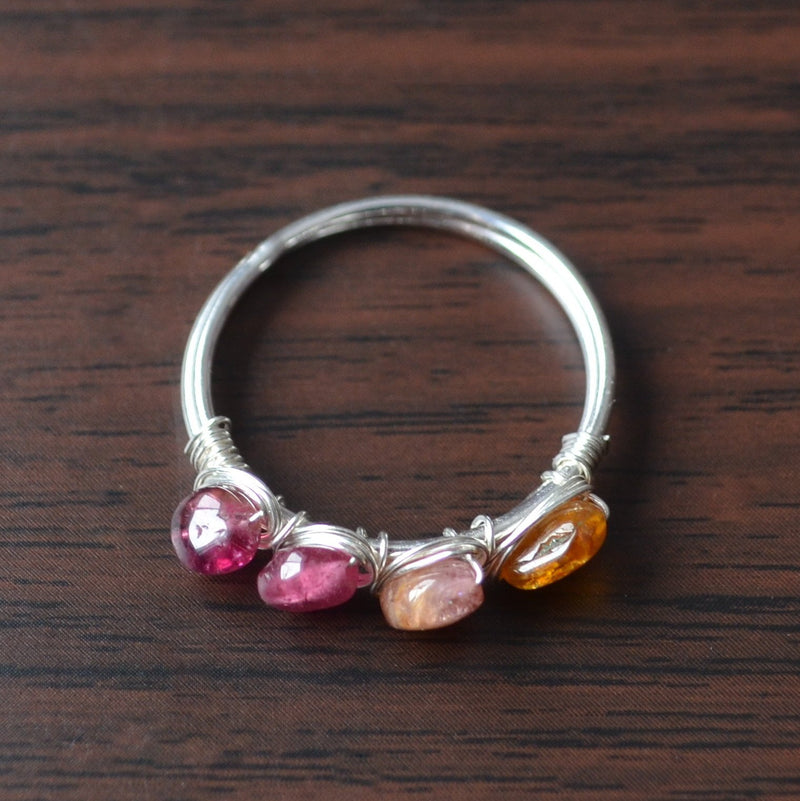 Real Tourmaline Ring