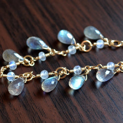Elegant Labradorite Necklace