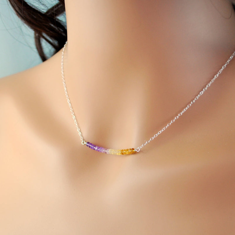 Handmade Necklace in Sterling Silver