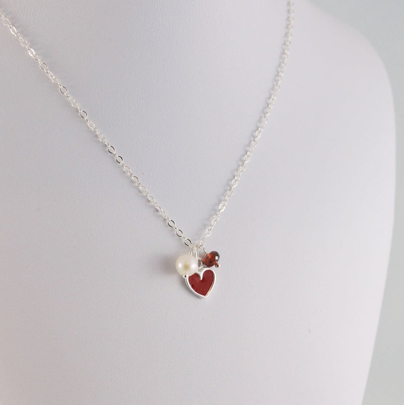 Child's Valentines Day Necklace