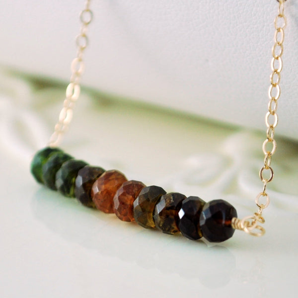 Petro Tourmaline Necklace