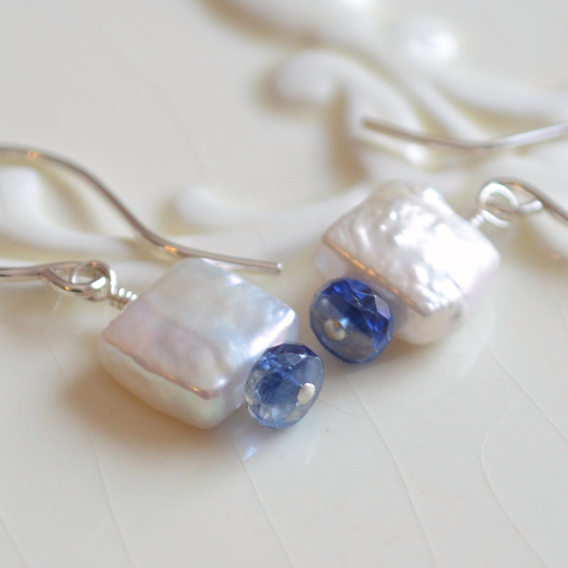 Freshwater Pearl Drop Earrings