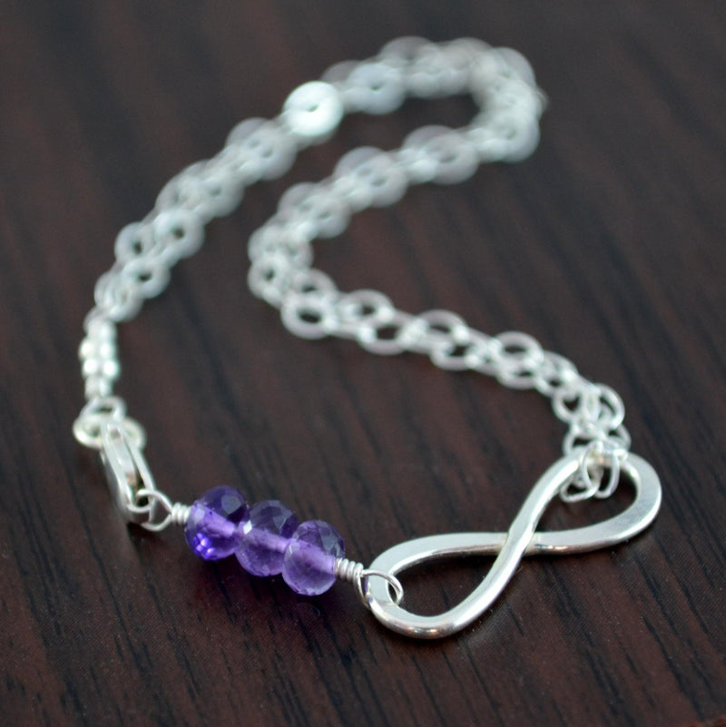 Child's Infinity Bracelet in Sterling Silver