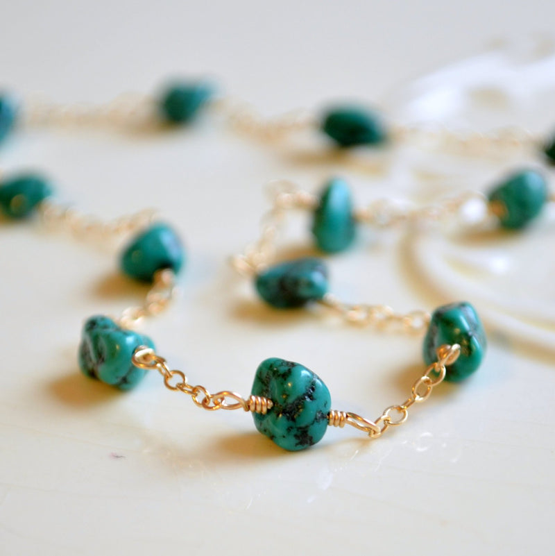 Genuine Turquoise Anklet