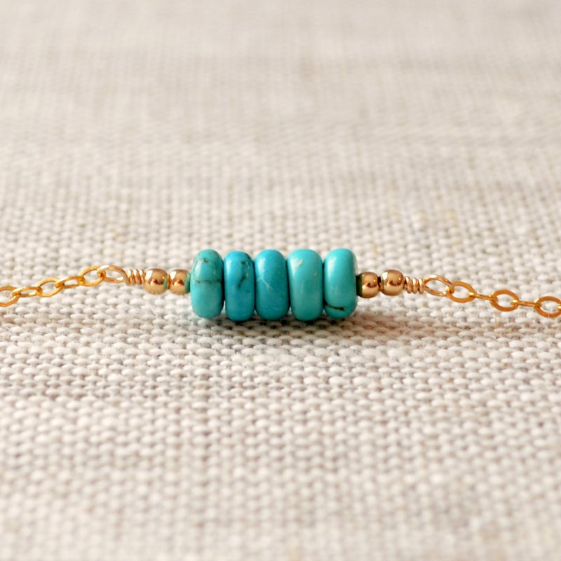 Real Turquoise Bracelet