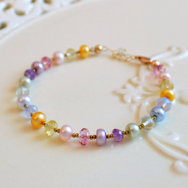 Easter Jewelry in Pastel Colors