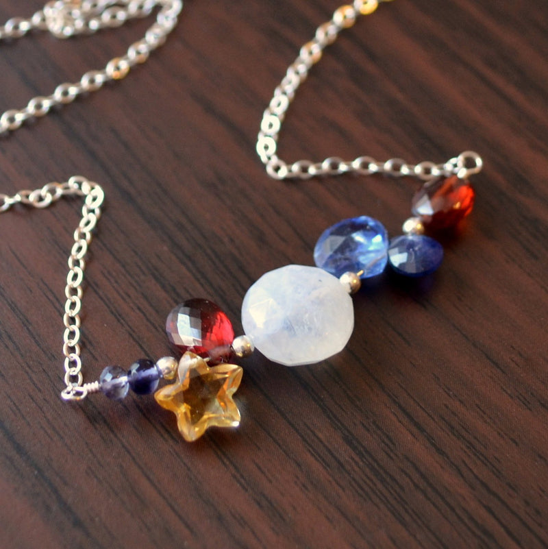 Red White and Blue Necklace