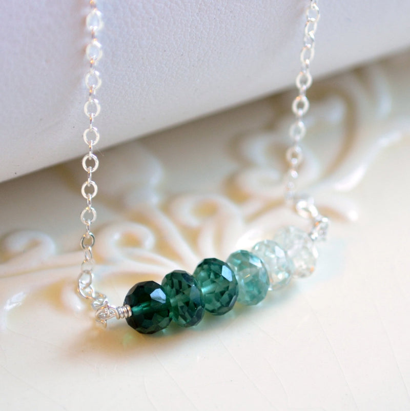 Green Ombre Necklace