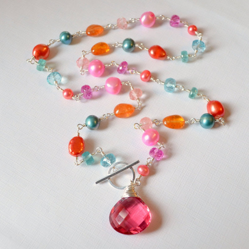 Tropical bliss necklace