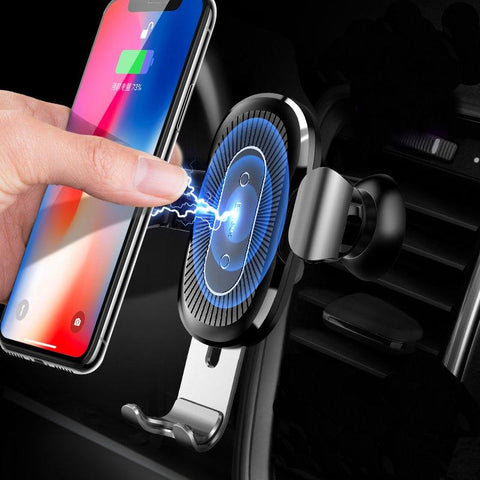 Image of Wireless Car Charger for iPhone and Samsung