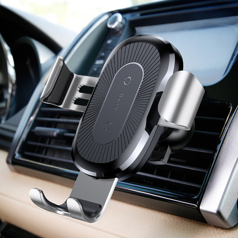 Wireless Car Charger for iPhone and Samsung