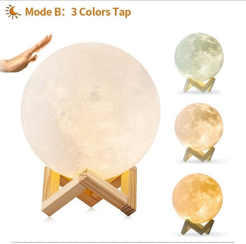 Image of Enchanting Luna MOON Light Lamp