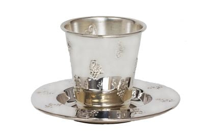 Kiddush Cup Mini, Silver plated