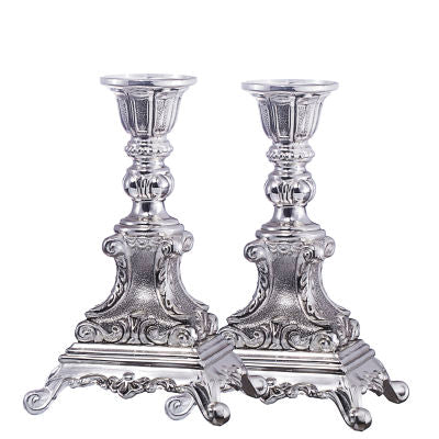 Candle Holder Silver Plated Set 6