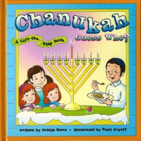 Chanukah Guess Who? A lift the flap book