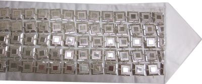 Silver Filled Atarah Mirror Style 5 Rows