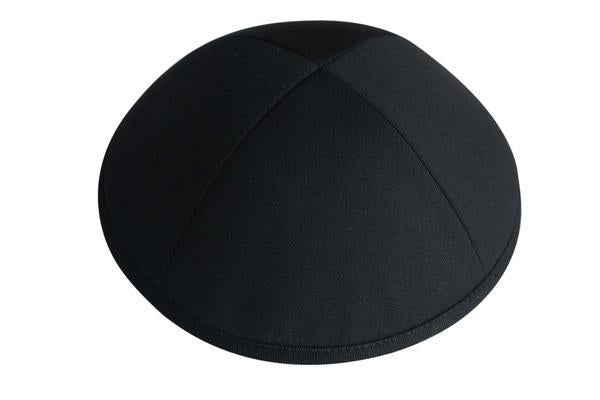 Ikippah Black Suiting Yarmulka