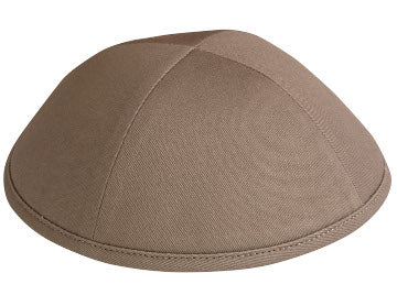 Taupe Cotton Yarmulka