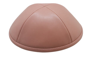iKIPPAH Salmon Leather Yarmulka