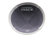 Load image into Gallery viewer, ikippah Mid Grey Cotton Yarmulka