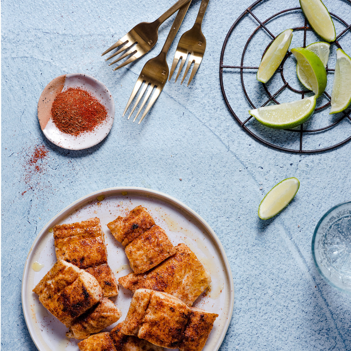 Mahi Mahi With Chili Lime Seasoning Blend