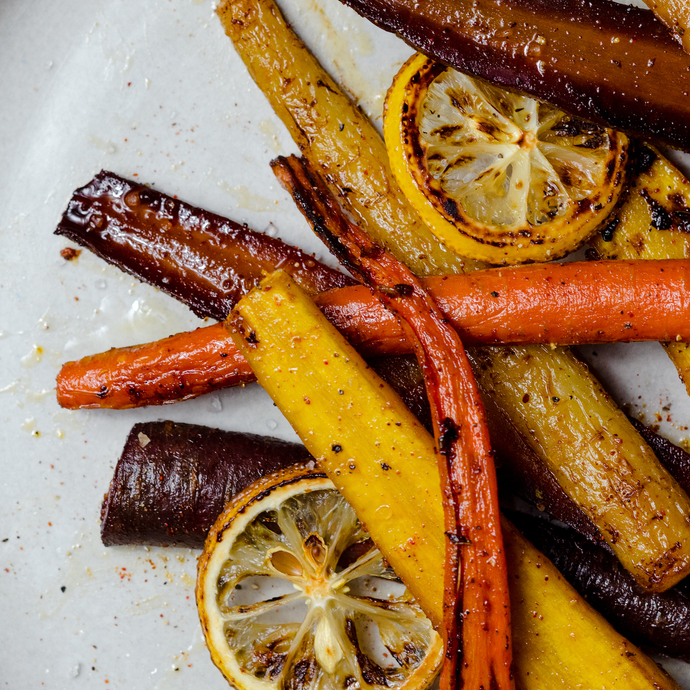 Maple Harissa Carrots With Harissa Seasoning Blend