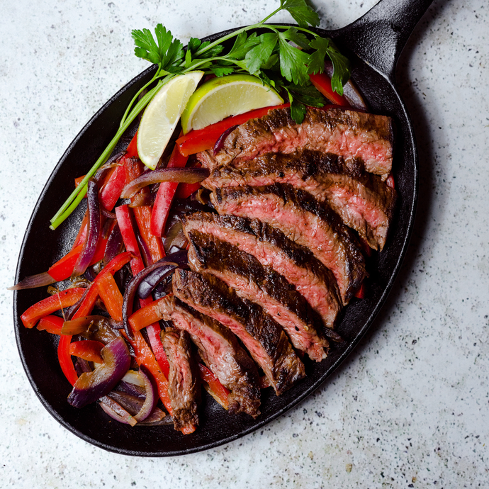 Fajitas With Carne Asada Seasoning Blend