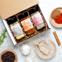 Load image into Gallery viewer, Choose Your Own Adventure Spice Box - Pick Any Three Of Our Spice Blends