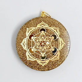 Pendentif Orgonite METATRON Sunny - Talisman Protection - Réduction de 40% 10