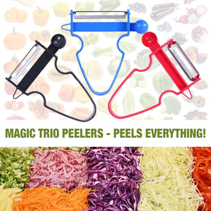 MKTEK™ MAGIC TRIO PEELERS [SET of 3] (2019 Upgraded)