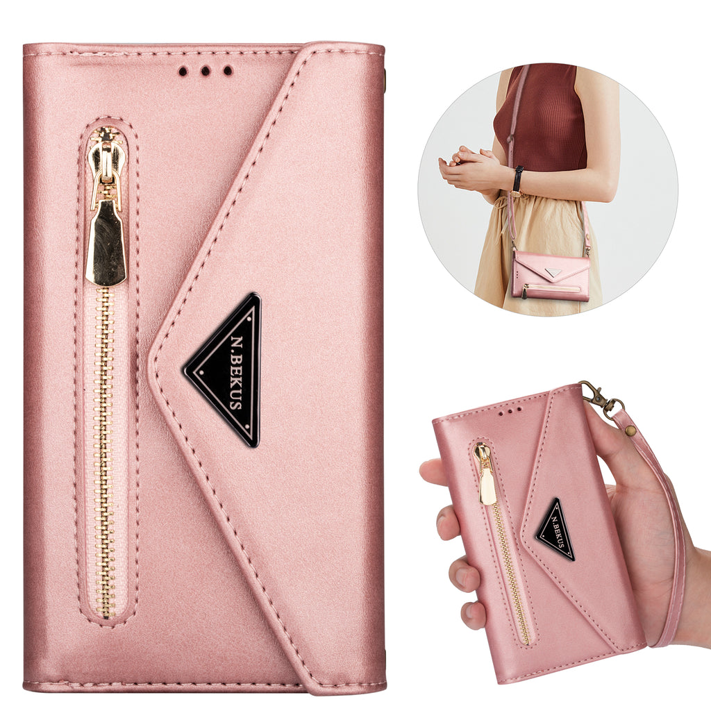Premium Leather 2-in-1 Wallet iPhone Case
