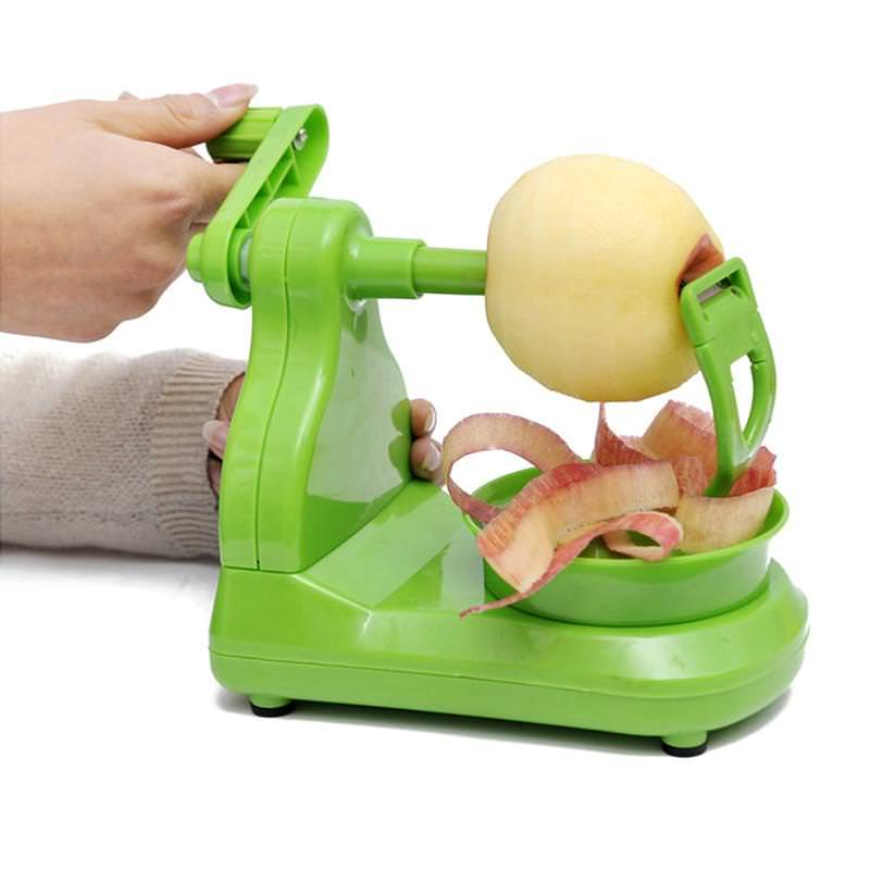 PORTABLE APPLE PEELER