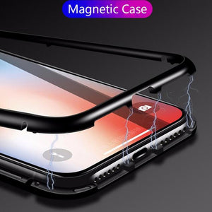 Magnetic Adsorption Flip Case for Samsung
