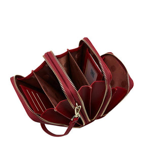 All-in-one 3-Layers Crossbody Shoulder Bag