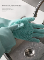 [NEW YEAR SALE - 50% OFF] SILICONE DISH WASHING GLOVES