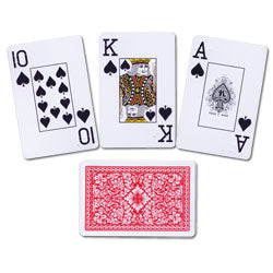Braille playing cards
