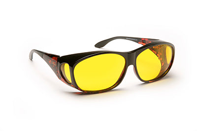 Solar Shield Glasses, Yellow, Medium