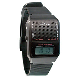 Square Spanish Talking Watch