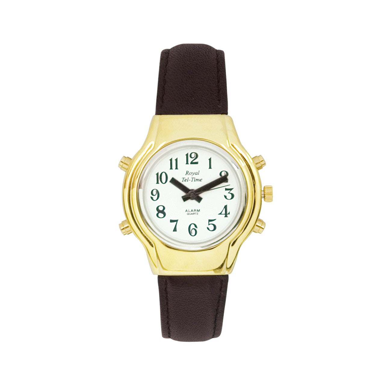 Ladies Spanish Talking Watch with Leather Band