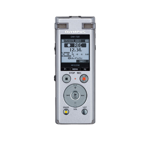 Olympus Digital Voice Guided Recorder DM-720 - 4GB