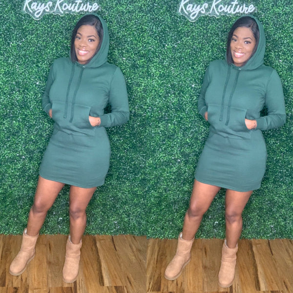 Not So Basic Hoodie Dress